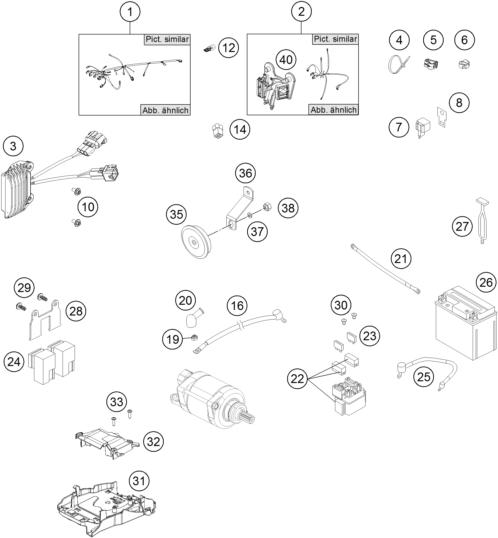 husaberg fe 350 wiring diagram
