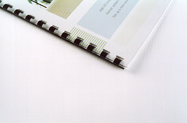 Binding Guide - Types of Document Binding First Colour