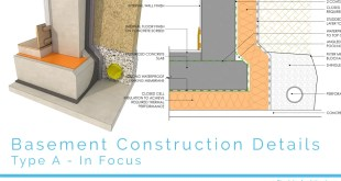 basement construction details type a