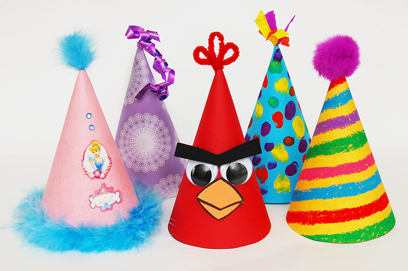 Birthday Hat Template Free Printable Templates  Coloring Pages