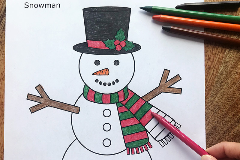 Snowman Free Printable Templates  Coloring Pages FirstPalette