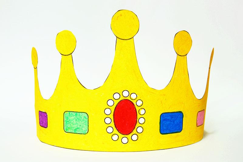 Prince and Princess Crown Templates Free Printable Templates