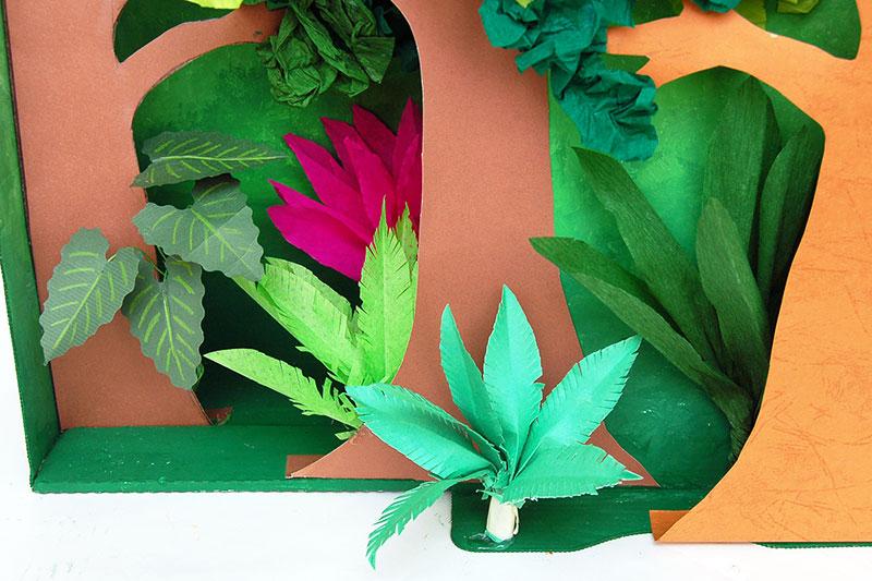 Diorama Plants and Trees Kids\u0027 Crafts Fun Craft Ideas