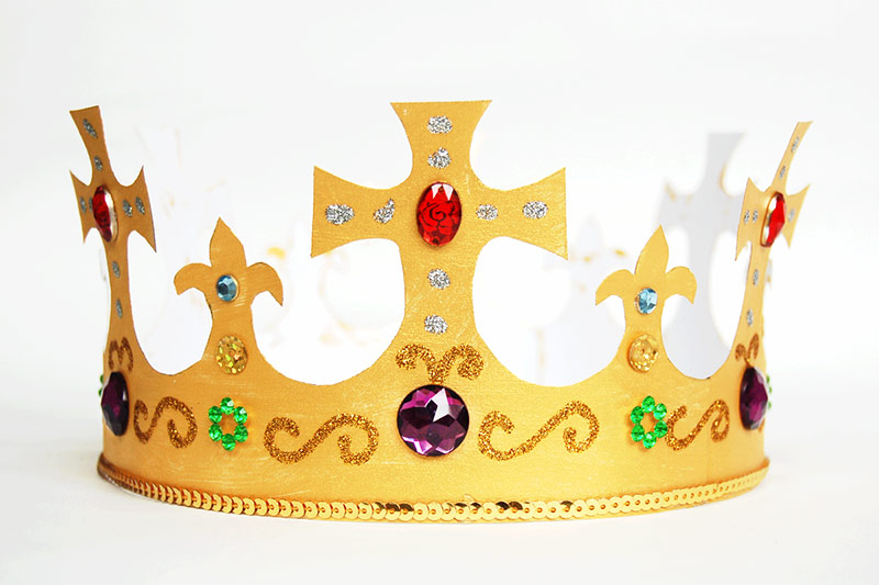 King and Queen\u0027s Crown Templates Free Printable Templates