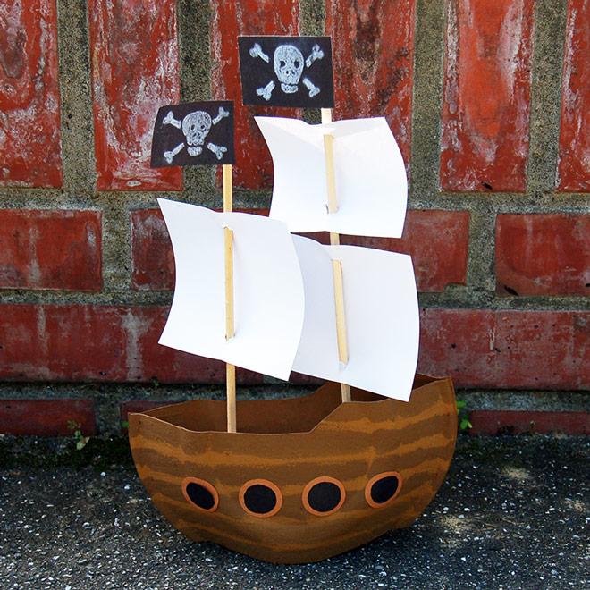 Mayflower or Pirate Ship Kids\u0027 Crafts Fun Craft Ideas