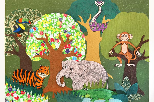 Amazon Jungle or Rainforest Animals Free Printable Templates