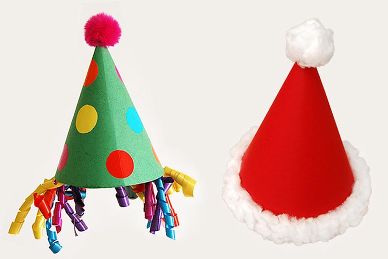 Cone Hat Craft Recipes  How-To\u0027s FirstPalette