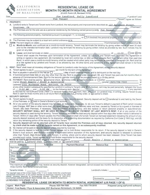 Property Management Agreements Node2004 Resume Template