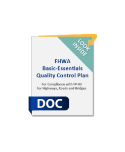 Chapter 5 Contract Administration Caltrans Dot Fhwa Comprehensive Contractor Quality Plan And Manual