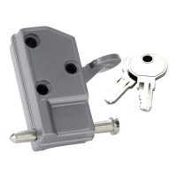 Keyed Patio Door Lock - First Watch Security
