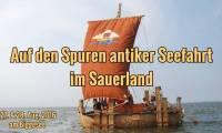 Mit einem Nachbau eines altägyptischen Seglers geht es am 27. und 28. August 2016 am Biggesee im Sauerland (Bild: D. Görlitz)