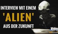 """Interview mit einem Alien - Top Secret Film des """"Project Blue Book"""" oder Fake? wenn ja: Von wem? (Bild: YouTube-Screenshot / Montage: L. A. Fischinger)"""