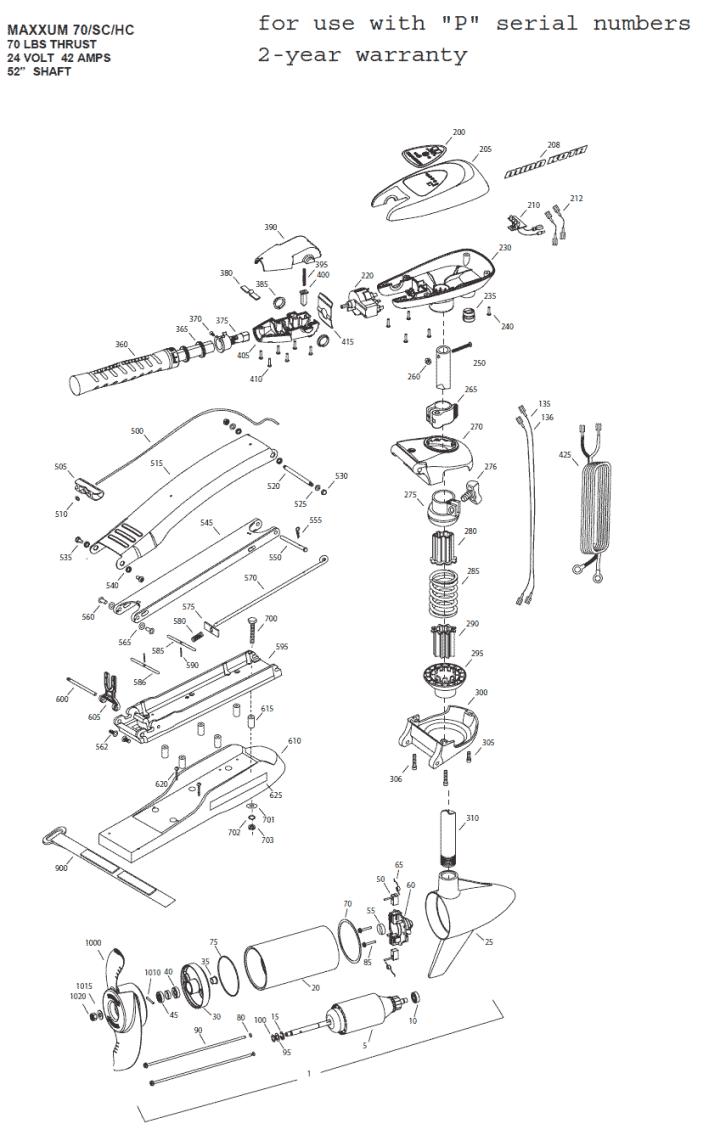 minn kota traxxis wiring diagram