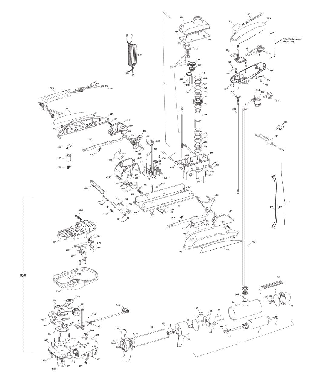 minn kota wiring harness