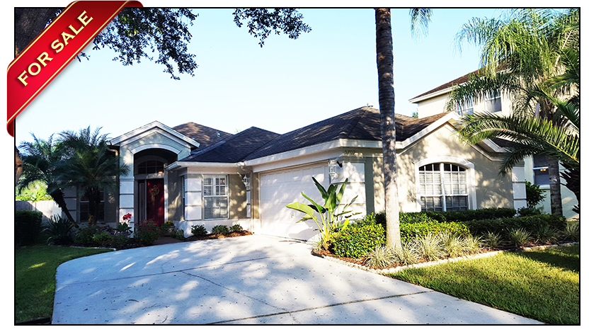 beautifully maintained fishhawk ranch home for sale on cul