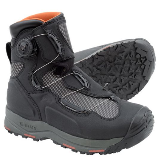 Simms G4 Boa Boots Black Glasgow Angling Centre