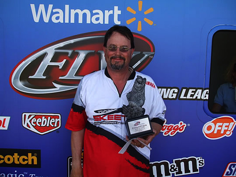 Franklin Wins Walmart Bass Fishing League Okie Division On Lake