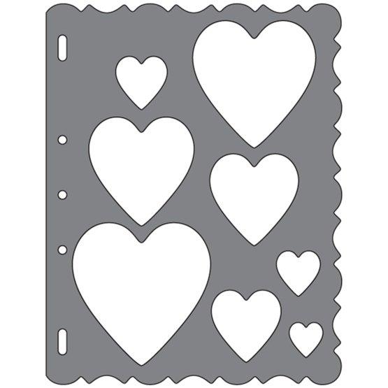 Shape Template™ - Hearts Template  Shape Cutting