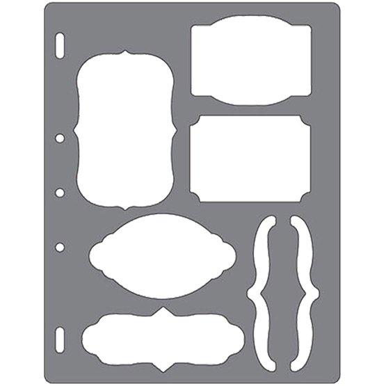 Shape Template™ - Tags  Brackets Template  Shape Cutting