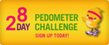 FIT CHICKS Fitness Boot camps: Pedometer Challenge