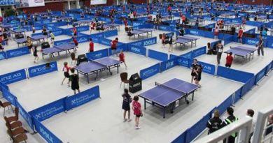 L'8 luglio a Solbiate (CO) torneo di tennistavolo a coppie