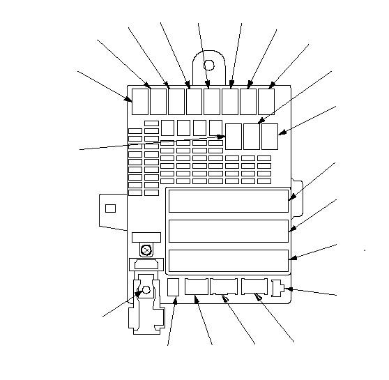 Keyless Entry/Alarm Fuse Box Location - Unofficial Honda FIT Forums