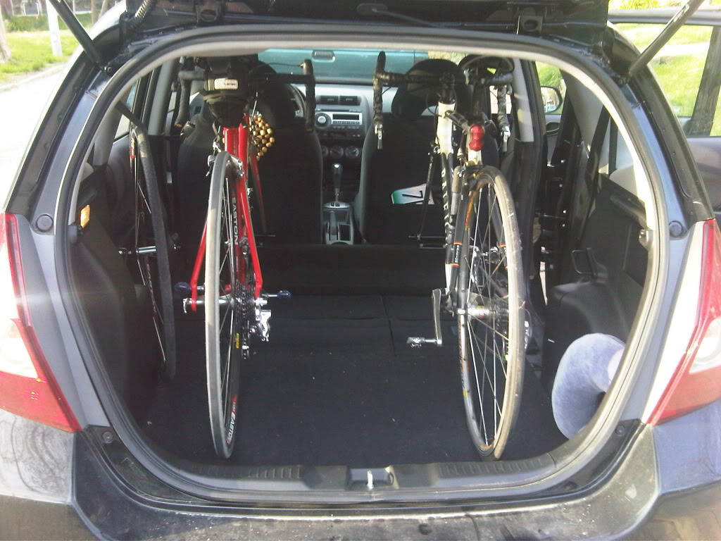 Bike Rack Roofhitchthuleyakima Unofficial Honda Fit