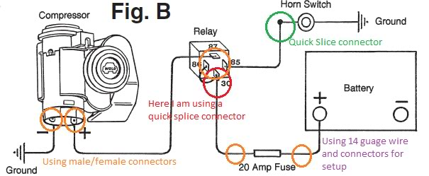 Bad Boy Air Horns Upgrade - Sacman\u0027s Install - Unofficial Honda FIT