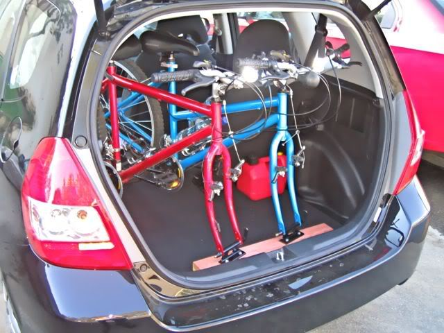 Can 2 Bikes Fit In A Fit Unofficial Honda Fit Forums