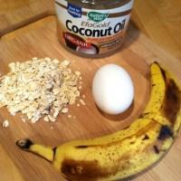 banana-egg-oat pancake