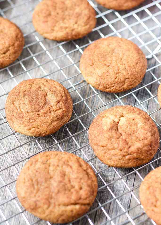 Let's make some cookies!! Whole Wheat Snickerdoodles with healthier ...