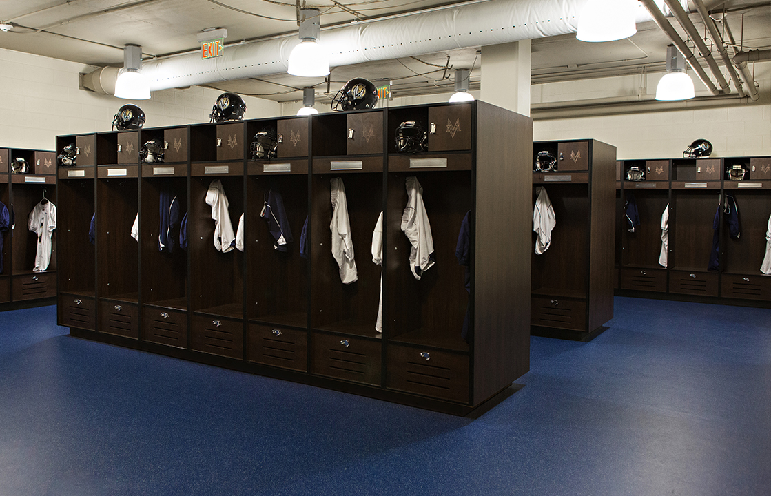 Athletic Lockers Fitness Finishes