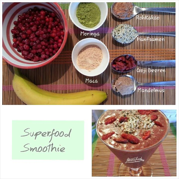 Maca-Moringa-Superfood Smoothie