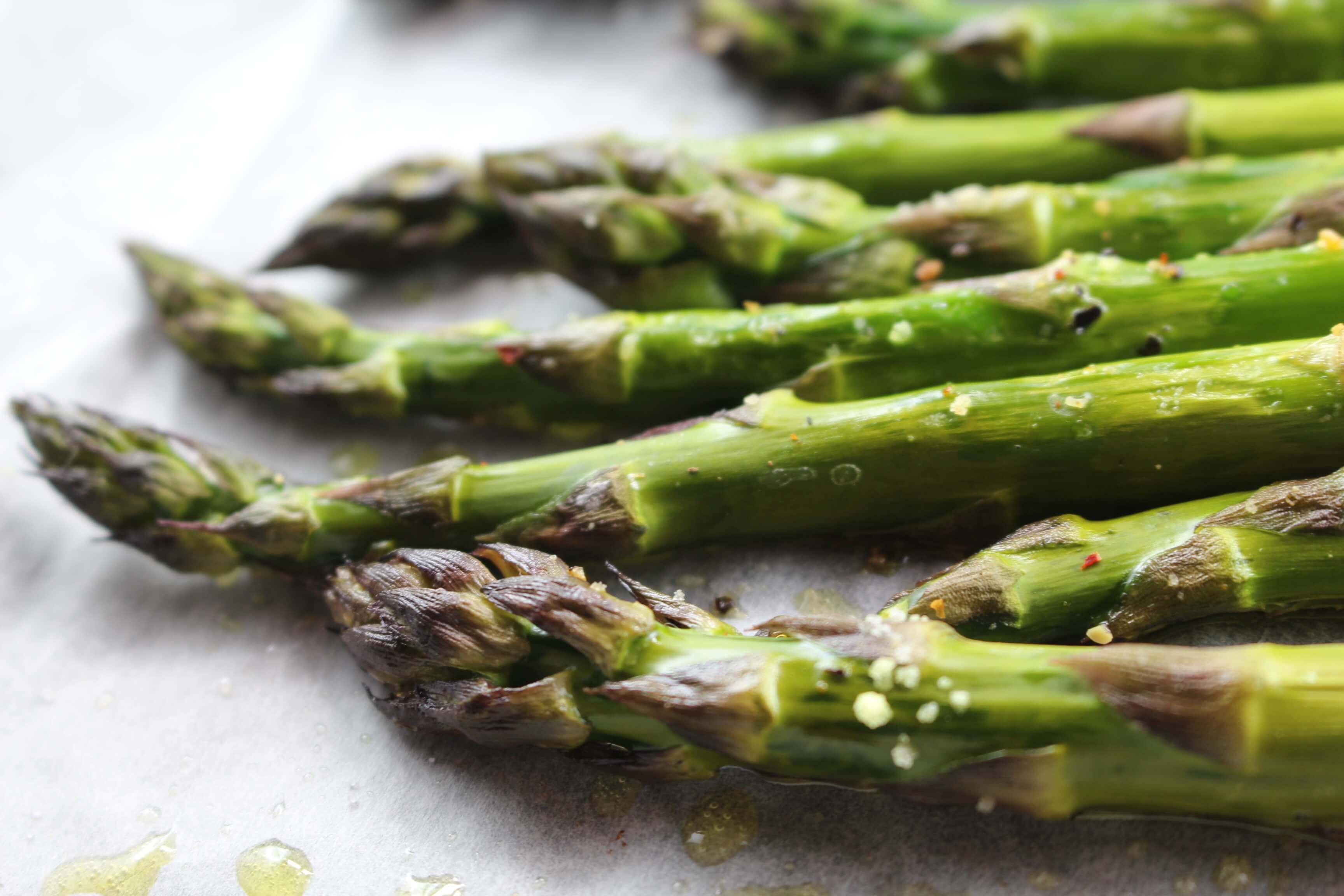 Grüner Spargel - gesund und lecker