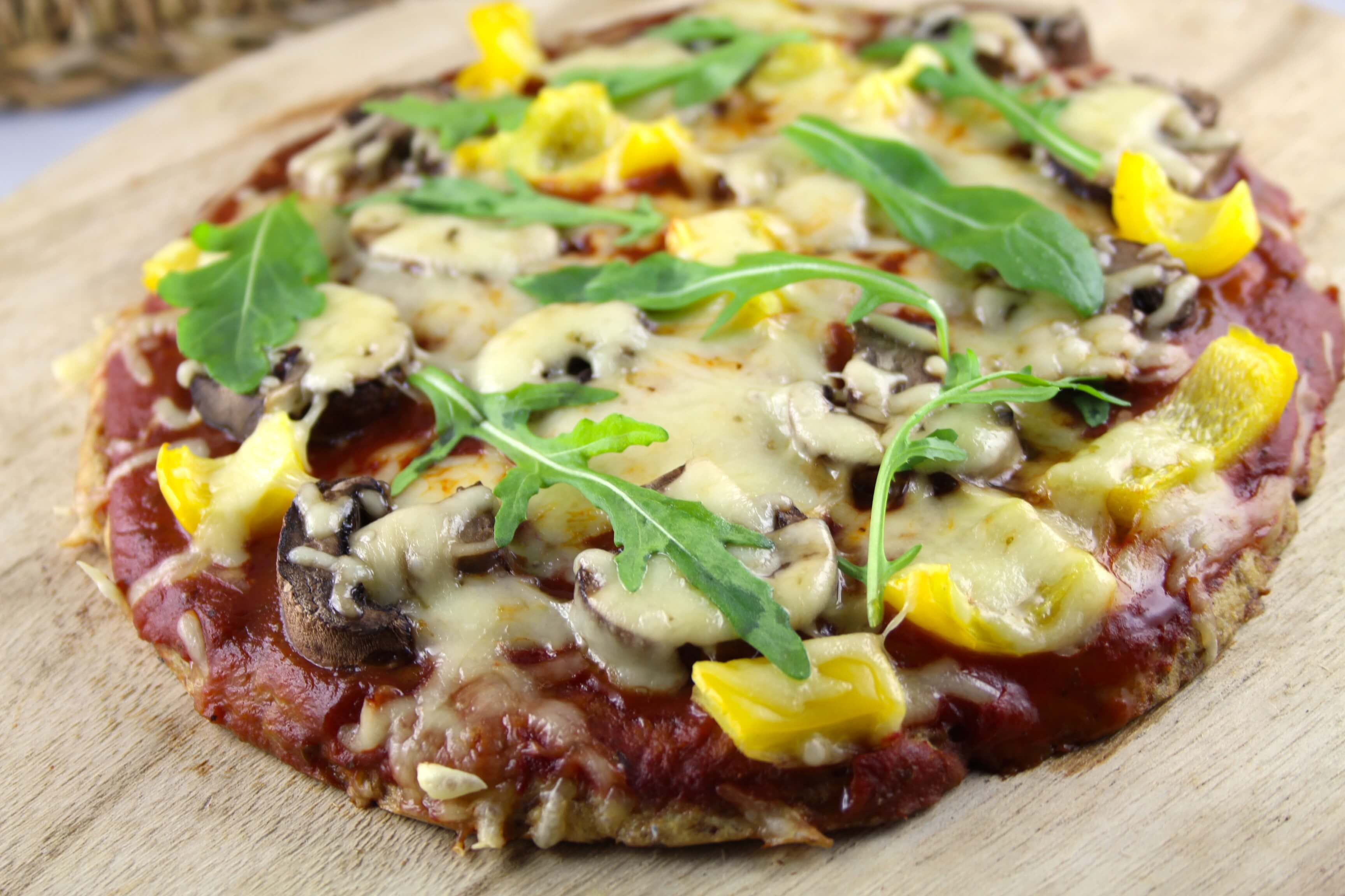 Low Carb Thunfisch Pizza
