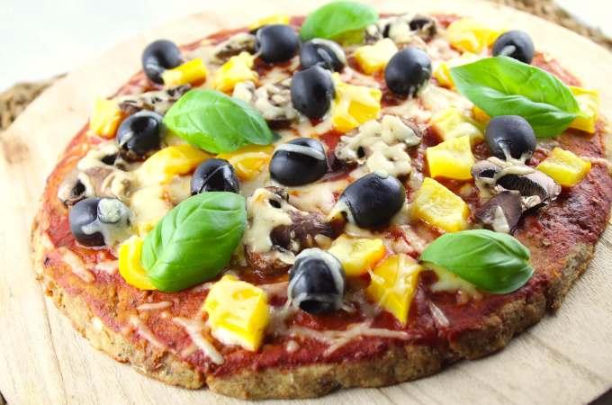 Lowcarb Thunfisch Pizza a la Italia