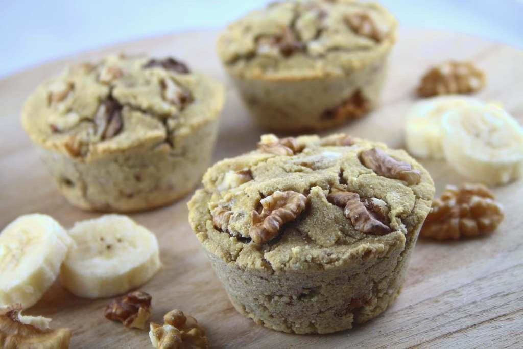Paleo Bananen Walnuss Muffins