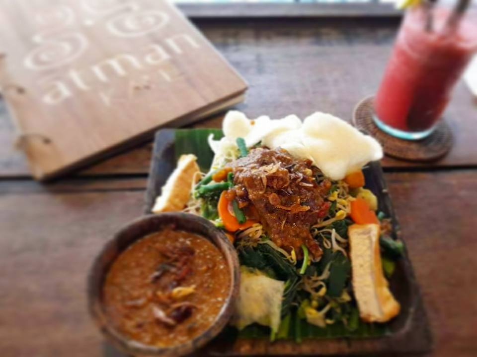 Healthy food guide Bali, Ubud - Gado Gado, Atman Cafe