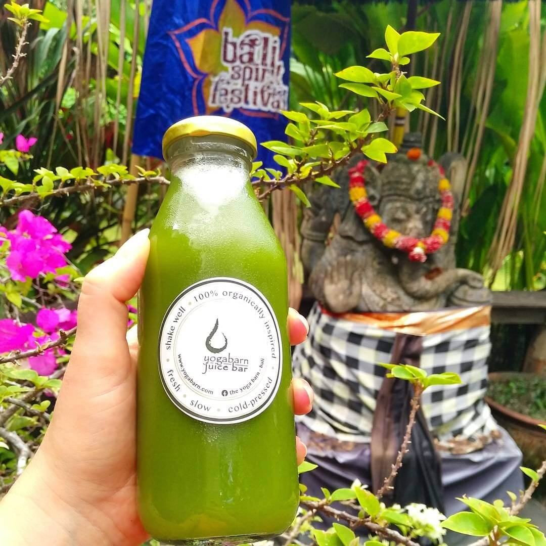 Yogabarn - Green Juice -healthy food guide Bali