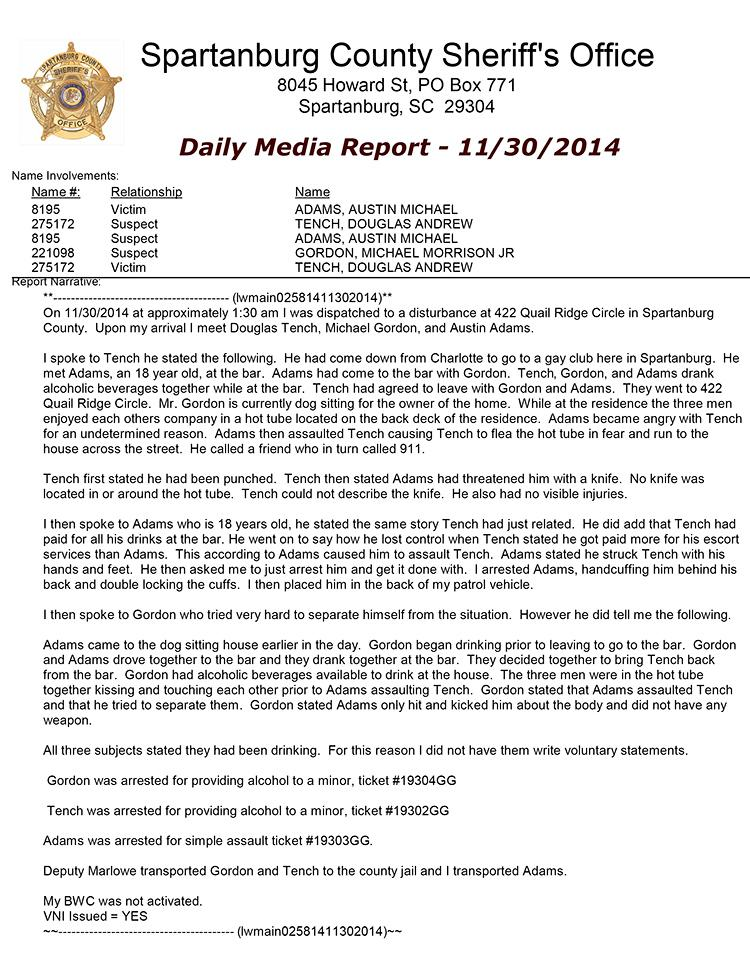 sc incident report - Minimfagency - what is an daily incident reports