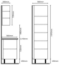Standard Kitchen Cabinet Sizes