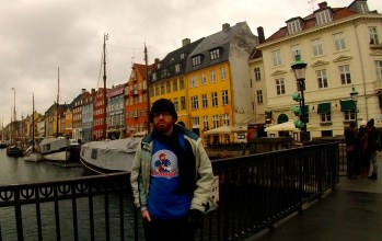 The famous Nyhavn in Copenhagen.