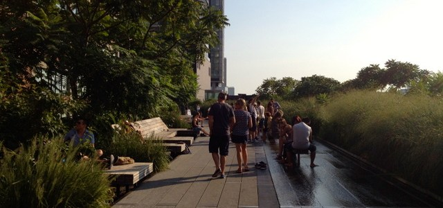 High Line Park Nap Spot – New York City