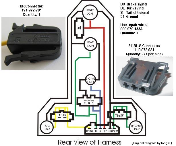 Vw Trailer Wiring Diagram Electrical Circuit Electrical Wiring Diagram