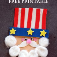 4th of July Uncle Sam Craft