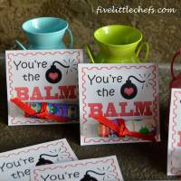Printable Valentines Day Cards - You're The BALM!