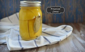 Preserved Lemon Recipe | Five Senses Palate