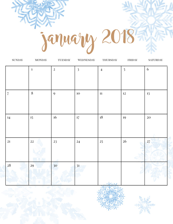 20 Fun Winter Activities for Kids Plus Free Printable Calendar