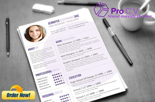 Design, create and write a STANDOUT PROFESSIONAL CV/Resume for you