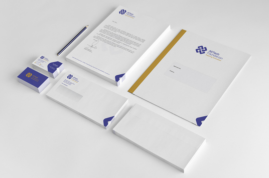 Design stylish and professional LETTERHEAD for £5  npdesigns - professional letterhead